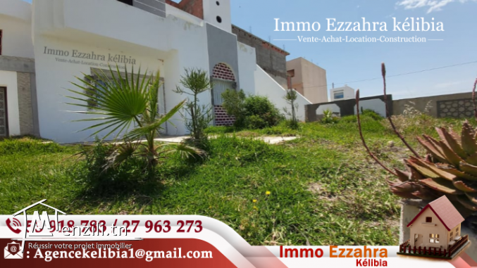 Une villa les Pieds Dans L'eau à kélibia Ain Grinz