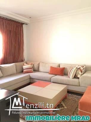 AV une superbe villa s+3 réez de chaussée à route Hammamet  birbouragba