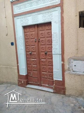 Maison à vendre dans la medina de Hammamet