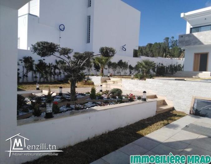 AV  une charmante villa toute neuve  à Hammamet nord.