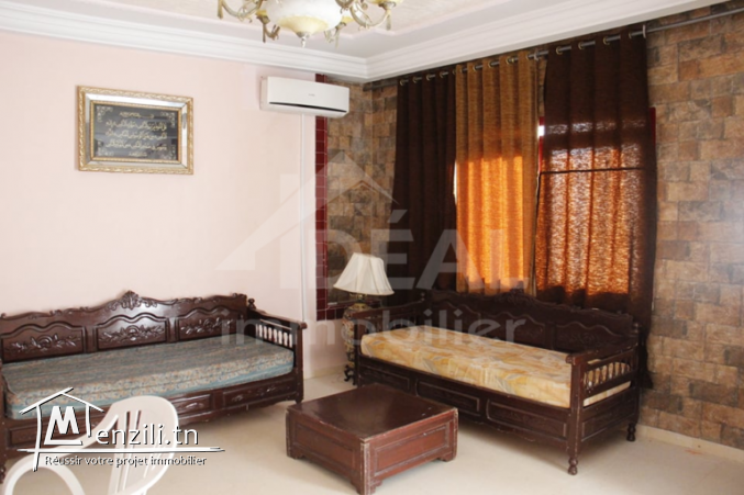 Villa R+3 à Dar Chaâbane Plage