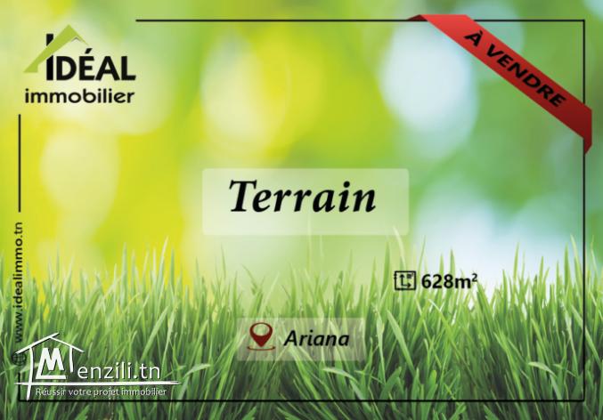 """""""Terrain de 628M² à Route Nahli"""