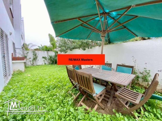 Duplex avec Jardin meublé à Sidi Daoued