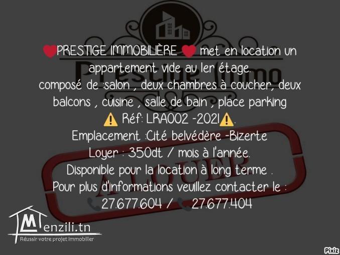 LRA002 -2021 appartement cité belvédère