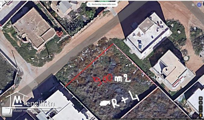 Terrain a vendre de 900 m2