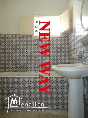 Maison R+1 à cité el Manazah