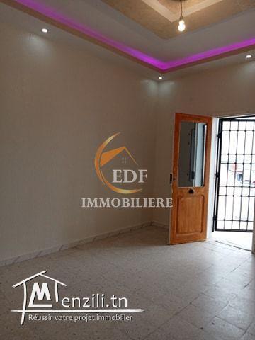 Réf 1505 Un étage de villa s2 à Boukhriss Bizerte
