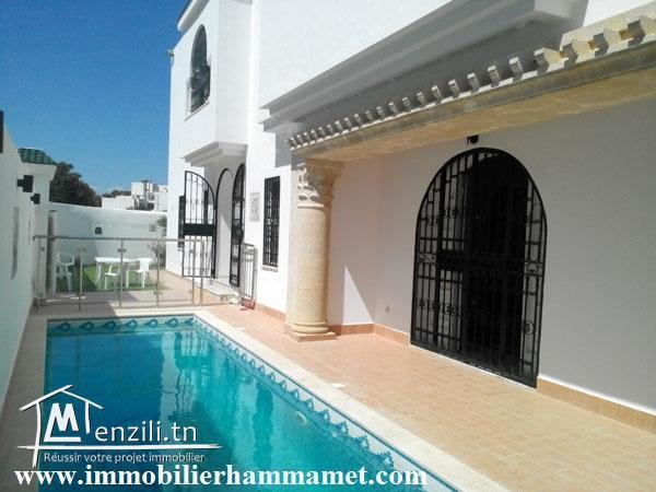 Villa Aziz à Hammamet