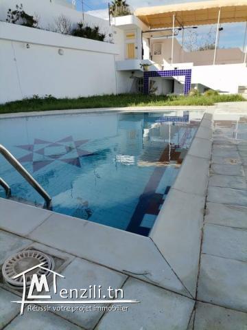 villa manzah 9c avec piscine