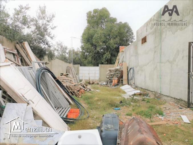 Local commercial + Terrain à Bir Bouregba ,Hammamet, Nabeul