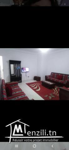 bel appartement meublé à louer à monastir