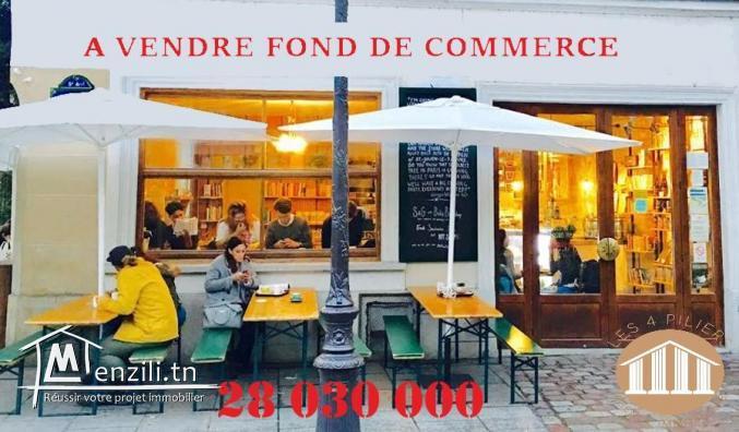 A vendre Fond de Commerce – Entreprise Coffee Shop