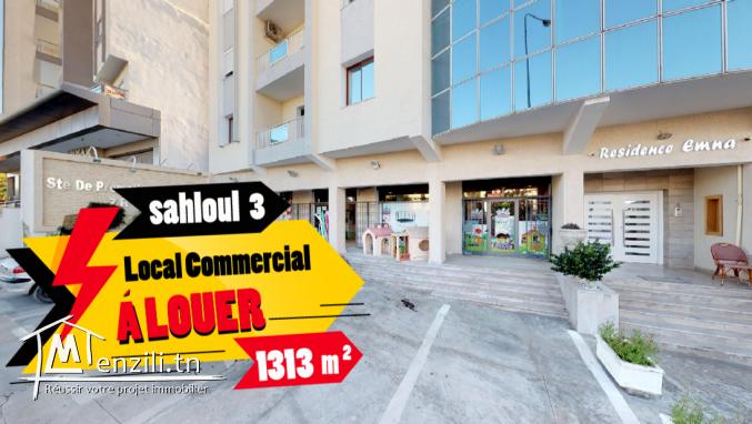 Local commercial à louer de 1313 m2