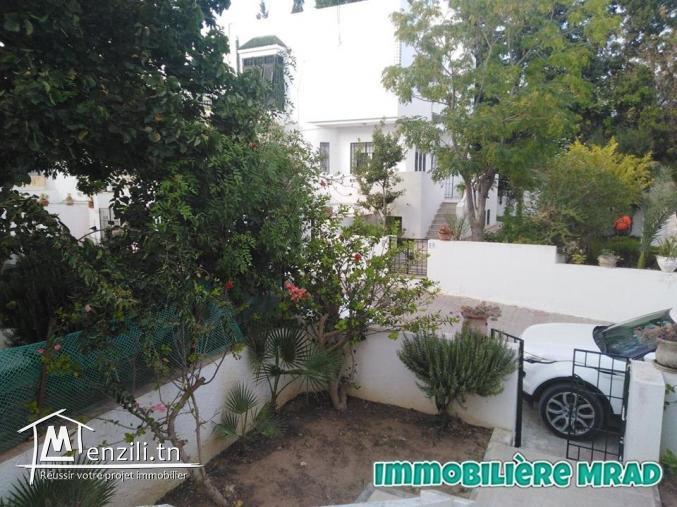 AV  une belle villa s+3 à Hammamet nord