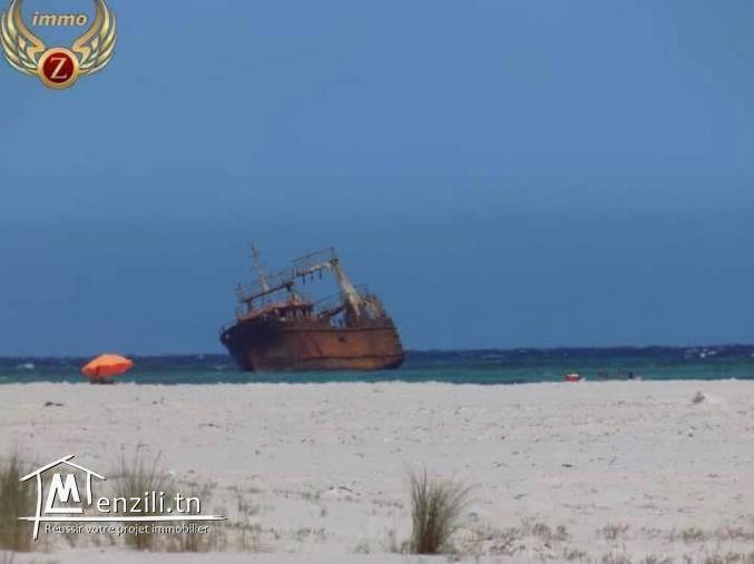 Lot à 150m de la plage de  Kélibia-sidi mansour