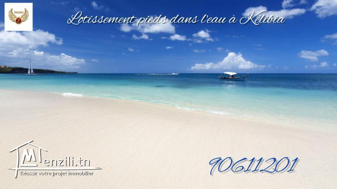 Lotissement à Kélibia-Beach.Appelez le: 90611201