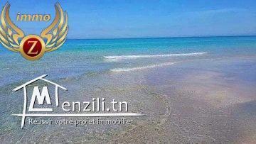 Terrain 2éme position de la plage à Kélibia-Hamem Ghzez