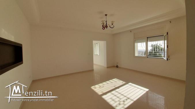 Appartement à louer en S+1 non meublé à Hammamet Nord
