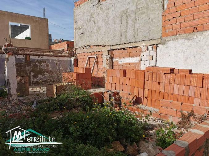 Terrain d'habitation 200 m² a cité Assemer kelibia