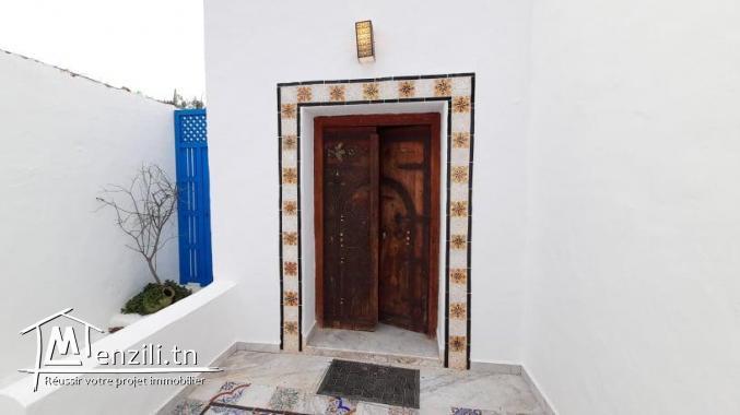 Maison à louer en S+2 de style arabesque à Hammamet Sud