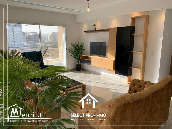 A louer étage de villa S+3 meublé à AFH Mrezga - Ref213a
