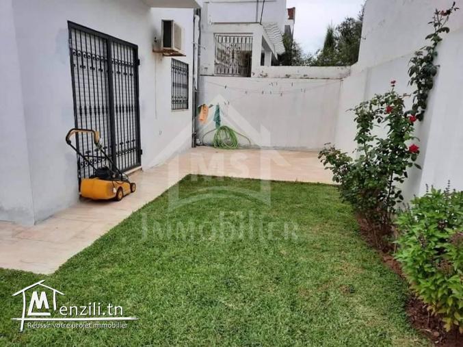a vendre une villa avec jardin a mrezga 51355351