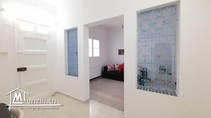 Maison à louer meublé en S+2 à Hammamet Centre