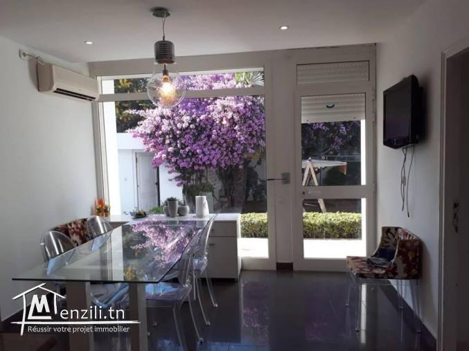 magnifique Villa S5 Sur un Grand Terrain à Menzah 9