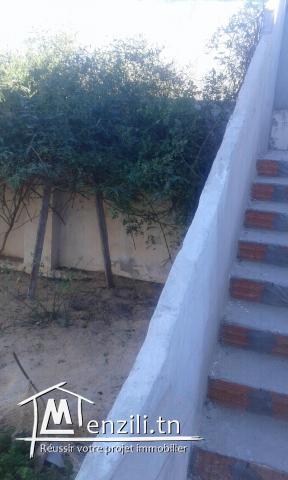 a vendre maison avec jardin
