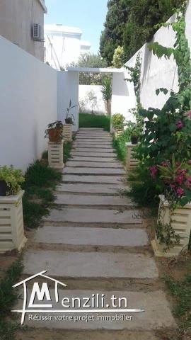 Villa à Yasmine Hammamet juste en derrière de Carthage Land