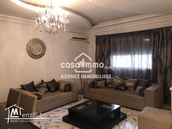 A vendre villa sur 2 étages a yasminette borj ghorbal
