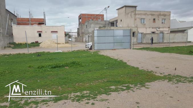 Des terrains a Boumhal