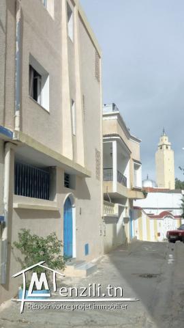 Villa deux niveaux à cité elmisk
