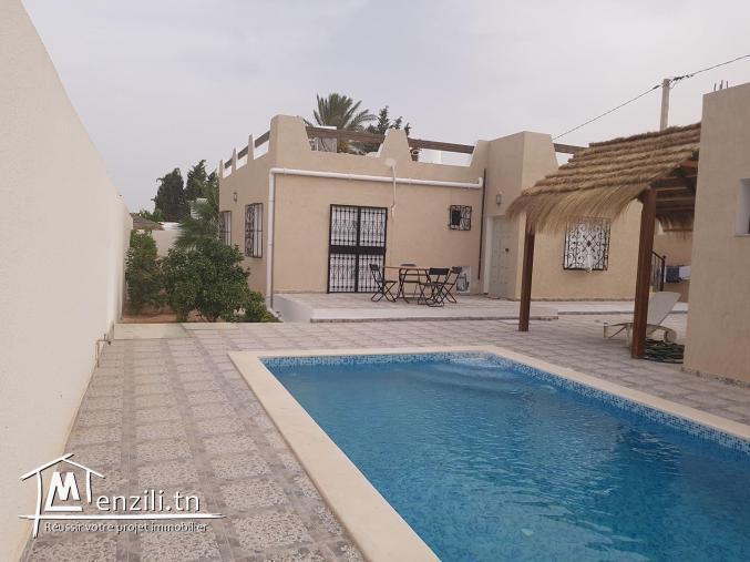 villa avec piscine à louer  VLS007