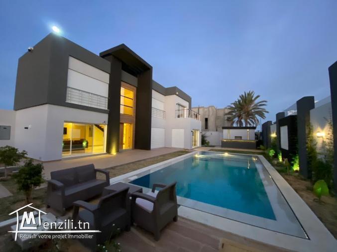 villa moderne avec piscine a djerba