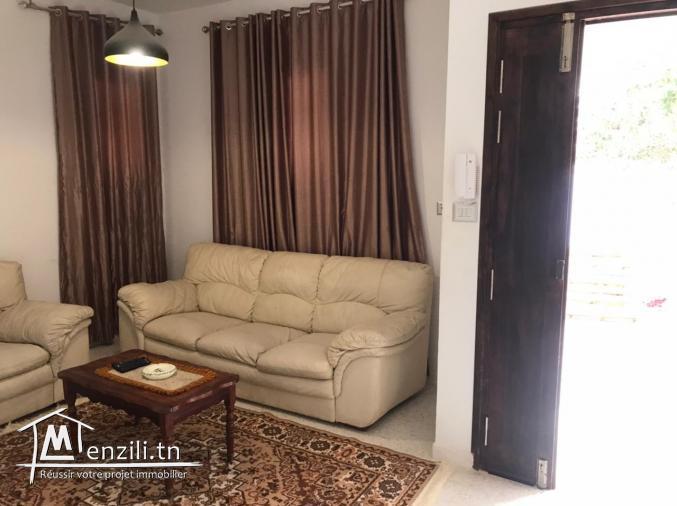 Maison meublée pour la location