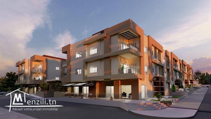 Villas et Duplexes haut standing vue de mer A VENDRE : Résidence TILEL