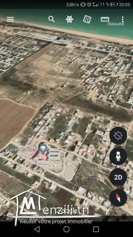 أرض للبيع مساحتها 211 متر مربع رواد الشط