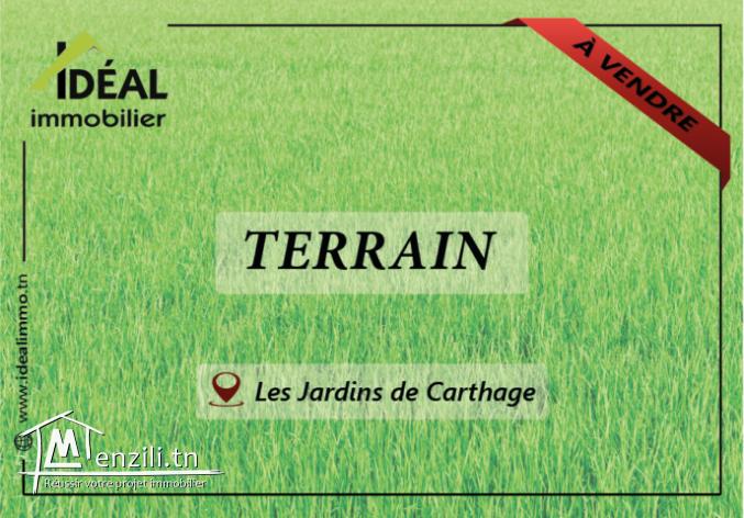 """""""Terrain de 2400M² aux Jardins de Carthage"""