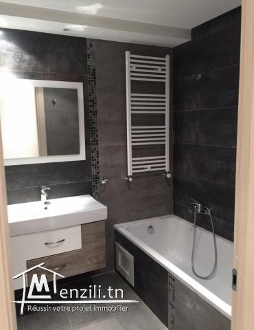A vendre un appartement s+2 haut standing en première étage situé à soukra