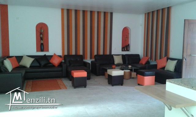 A louer une villa meublée à Hergla