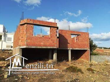 Maison inachevé à El haouaria