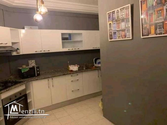 Un appartement s+2 à jardin el menzah 1