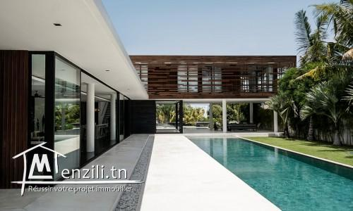 une Villa très haut standing  avec piscine à manar 1