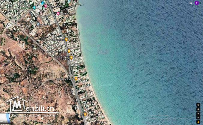 Terrain Commercial R+5 De 1250M² en vente à #Kantaoui
