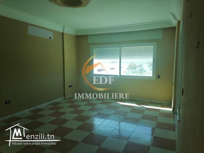 Ref 2236 : Un appartement S+3 avec très belle vue à zarzouna