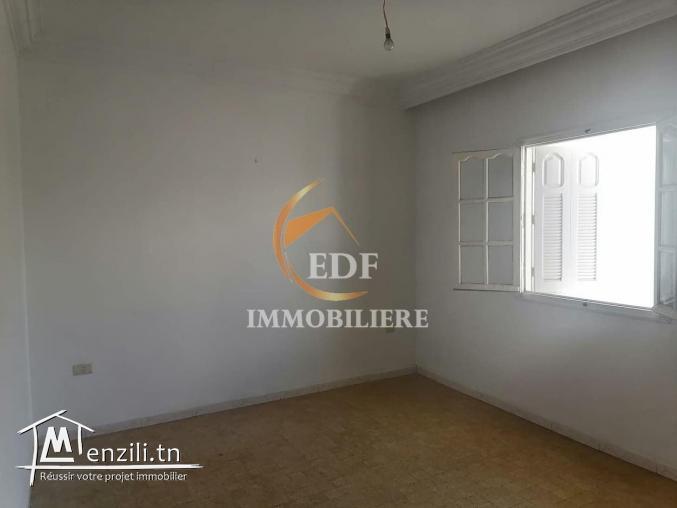 Ref 2235 : Un appartement RDC s+2 Zarzouna bizerte