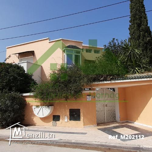 Une villa d'une superficie de 501m² à Boumhel
