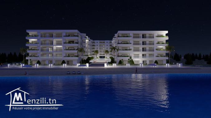 Résidence Costa : Appartements haut standing, front de mer de Chott Meriem A VENDRE