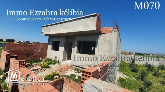 une maison s+2 inachevée à Hammem Ghezaz
